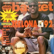 Coleccionismo deportivo: MICHAEL JORDAN - REVISTA ''DON BASKET'' (JULIO 1992) - ''DREAM TEAM'' - NBA. Lote 143112278