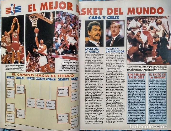 Coleccionismo deportivo: Michael Jordan - Revista ''Don Basket'' (julio 1992) - ''Dream team'' - NBA - Foto 3 - 143112278