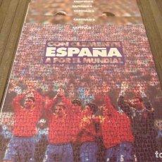 Coleccionismo deportivo: FASCICULOS CON CLEMENTE ESPAÑA A POR EL MUNDIAL 94 (DEL 1 AL 5). Lote 143164802