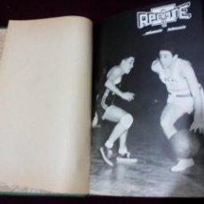 Coleccionismo deportivo: REBOTE AÑO 1965 COMPLETO NÚMEROS 59 AL 65 ENCUADERNADOS. Lote 143225650