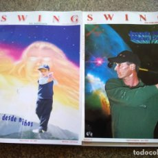 Coleccionismo deportivo: REVISTA SWING DE GOLF -- NUMEROS DEL 4 AL 8 -- 2001 -- . Lote 143438274