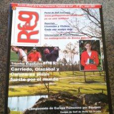 Coleccionismo deportivo: REVISTA OFICIAL DE LA FEDERACION ESPAÑOLA DE GOLF -- Nº 20 -- MAYO 2001 -- . Lote 143439986