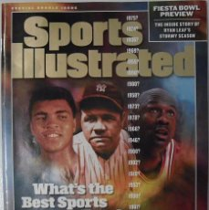 Coleccionismo deportivo: MICHAEL JORDAN - REVISTA ''SPORTS ILLUSTRATED'' (1999) - MOHAMMED ALI, ETC.. Lote 230300740