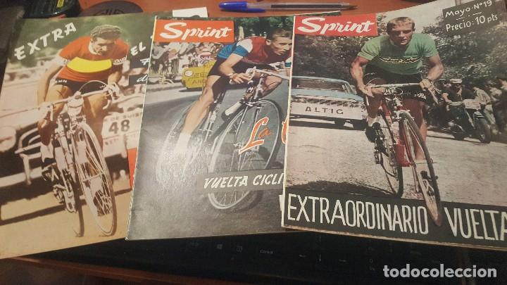 SPRINT, EXTRA VUELTA 63, HISTORIA VUELTA CICLISTA ESPAÑA, EL TOUR, AÑOS 60 (Coleccionismo Deportivo - Revistas y Periódicos - otros Deportes)