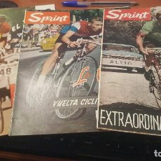 Coleccionismo deportivo: SPRINT, EXTRA VUELTA 63, HISTORIA VUELTA CICLISTA ESPAÑA, EL TOUR, AÑOS 60. Lote 143894590