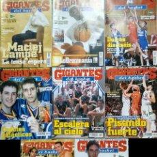Coleccionismo deportivo: REVISTA ''GIGANTES DEL BASKET'' - COLECCIONABLE ACB 1985-86 / 2002-03 - PETROVIC, SABONIS, GASOL.... Lote 143943894