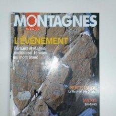 Coleccionismo deportivo: MONTAGNES MAGAZINE. L'EVENEMENT. AVRIL 2003. EN FRANCES. TDKR13. Lote 145153386