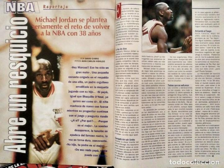 Coleccionismo deportivo: Michael Jordan & Washington Wizards - 14 revistas Gigantes del Basket (2001-2003) - NBA - Foto 2 - 145216850