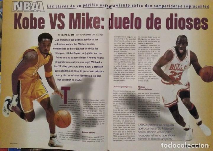 Coleccionismo deportivo: Michael Jordan & Washington Wizards - 14 revistas Gigantes del Basket (2001-2003) - NBA - Foto 3 - 145216850