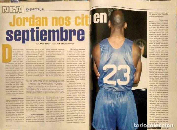 Coleccionismo deportivo: Michael Jordan & Washington Wizards - 14 revistas Gigantes del Basket (2001-2003) - NBA - Foto 4 - 145216850