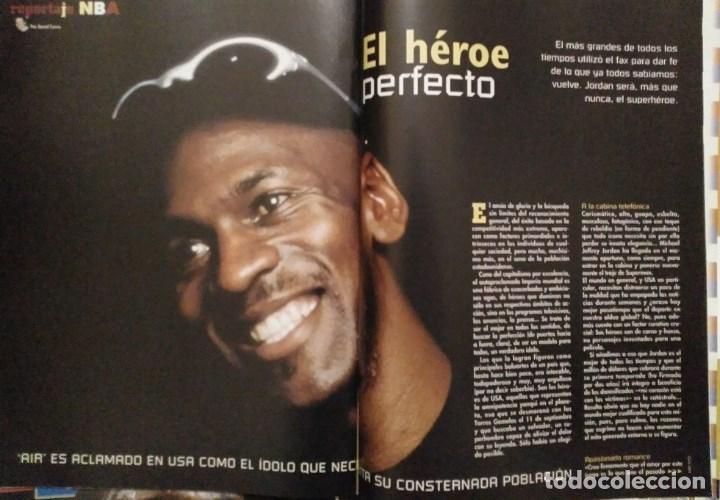 Coleccionismo deportivo: Michael Jordan & Washington Wizards - 14 revistas Gigantes del Basket (2001-2003) - NBA - Foto 5 - 145216850