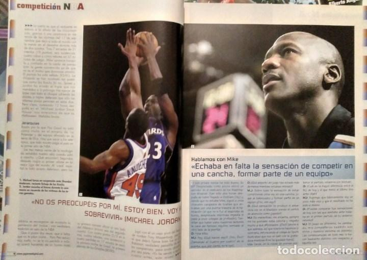 Coleccionismo deportivo: Michael Jordan & Washington Wizards - 14 revistas Gigantes del Basket (2001-2003) - NBA - Foto 7 - 145216850