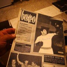 Coleccionismo deportivo: REVISTA BOXEO.NUMERO 94 2ª QUINCENA 1966. BEM ALLI.. Lote 145653462