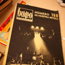 Coleccionismo deportivo: REVISTA BOXEO.ABRIL 1966.NUMERO EXTRAORDINARIO 100.COMPLETA 47 PAGINAS.. Lote 145655638