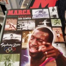 Coleccionismo deportivo: JUEGOS OLÍMPICOS SIDNEY 2000. GUIA MARCA. Lote 146172090