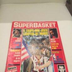 Coleccionismo deportivo: REVISTA SUPER BASKET NUMERO 6 1986 SUPERBASKET. Lote 146292738