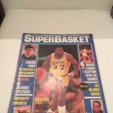Coleccionismo deportivo: REVISTA SUPERBASKET SUPER BASKET NÚMERO 11 ENERO 1987 ENTREVISTA MAGIC JOHNSON. Lote 146293410