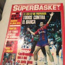 Coleccionismo deportivo: REVISTA SUPER BASKET NÚMERO 19 SEPTIEMBRE 1987. Lote 146295030