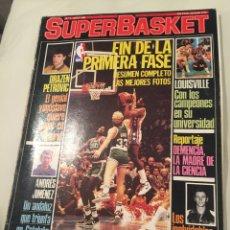 Coleccionismo deportivo: REVISTA SUPER BASKET NÚMERO 3 MAYO 1986. Lote 146296212