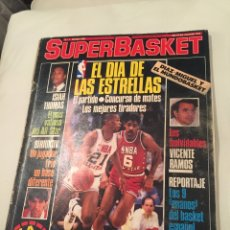 Coleccionismo deportivo: REVISTA SUPER BASKET NÚMERO 1 MARZO 1986. Lote 146296422