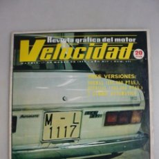 Coleccionismo deportivo: REVISTA DEL MOTOR: VELOCIDAD. MARZO 1973. Nº 601. Lote 146368274