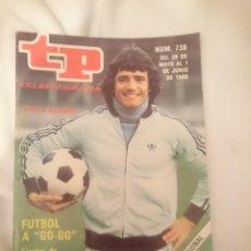 Coleccionismo deportivo: TP TELEPROGRAMA N 738 -DEL 26 MAYO AL 1 JUNIO 1980 - FUTBOL A GO GO - FINALES DE EUROPA Y DEL REY. Lote 146962742
