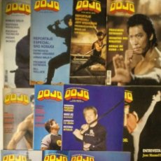 Coleccionismo deportivo: LOTE DE 22 REVISTAS DE ARTES MARCIALES ''DOJO''. Lote 147109738