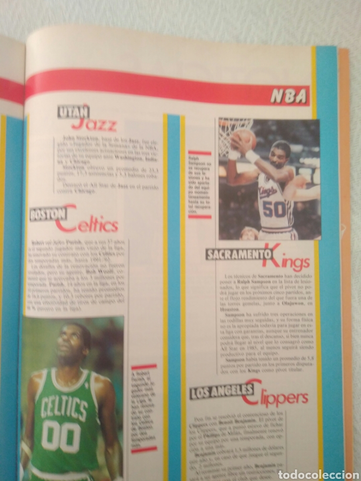 Coleccionismo deportivo: REVISTA GIGANTES DEL BASQUET.N 213.4DICIEMBRE 1989.ESPECIAL ALL STAR89.VER FOTOS - Foto 5 - 211263534