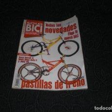 Coleccionismo deportivo: REVISTA SOLO BICI MOUNTAIN BIKE CICLISMO MAGAZINE PAPEL JULIO 1996 - 96 N 65 - EUROBIKE FRENOS BICI. Lote 147632666