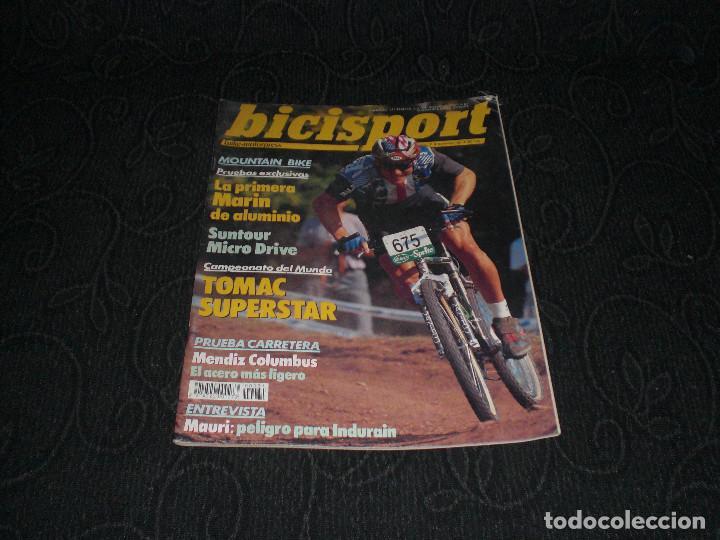 MAGAZINE REVISTA BICISPORT - NUM 31 - NOVIEMBRE 1991 - 91 - MARIN DE ALUMINIO PEUGEOT 92 (Coleccionismo Deportivo - Revistas y Periódicos - otros Deportes)