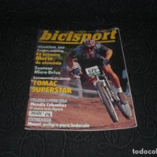 Coleccionismo deportivo: MAGAZINE REVISTA BICISPORT - NUM 31 - NOVIEMBRE 1991 - 91 - MARIN DE ALUMINIO PEUGEOT 92. Lote 147643138