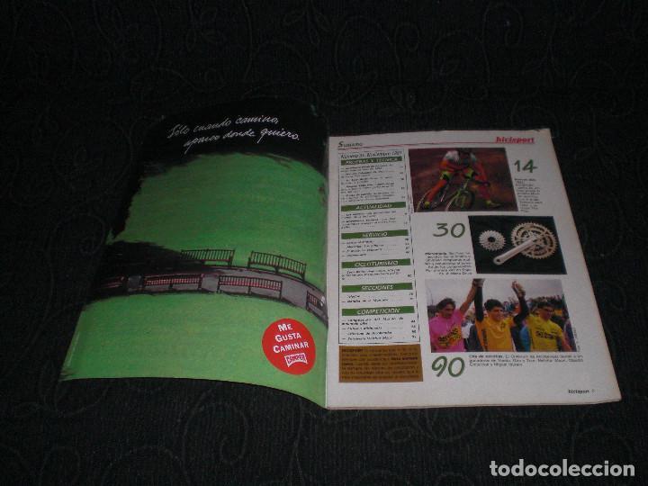 Coleccionismo deportivo: MAGAZINE REVISTA BICISPORT - NUM 31 - NOVIEMBRE 1991 - 91 - MARIN DE ALUMINIO PEUGEOT 92 - Foto 2 - 147643138