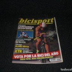 Coleccionismo deportivo: MAGAZINE REVISTA BICISPORT - NUM 32 - DICIEMBRE 1991 - 91 - CAMPAGNOLO TRIATLON. Lote 147643578