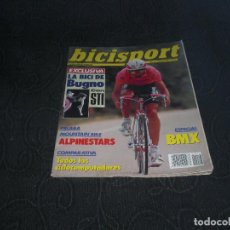 Coleccionismo deportivo: MAGAZINE REVISTA BICISPORT - NUM 17 - SEPTIEMBRE - 1990 - 90 - BMX BUGNO ALPINESTAR. Lote 147645746