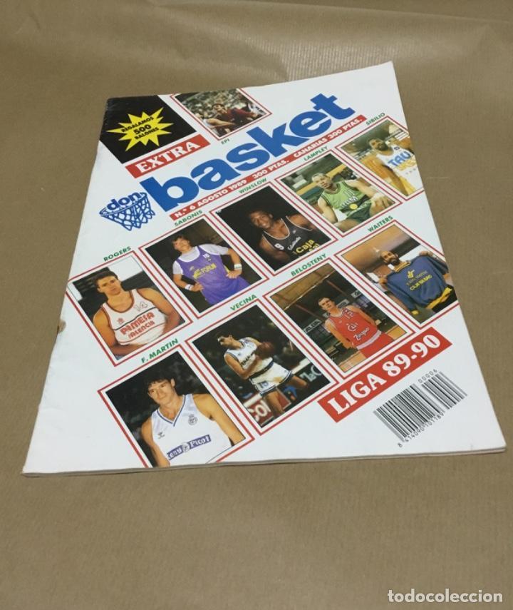 EXTRA DON BASKET NÚMERO 6 EXCELENTE ESTADO 1989 (Coleccionismo Deportivo - Revistas y Periódicos - otros Deportes)