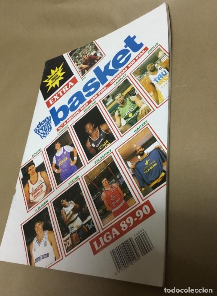 Coleccionismo deportivo: Extra don basket número 6 excelente estado 1989 - Foto 2 - 147900470