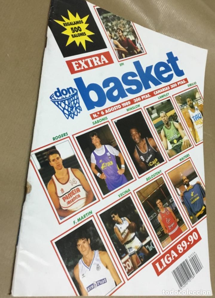 Coleccionismo deportivo: Extra don basket número 6 excelente estado 1989 - Foto 3 - 147900470