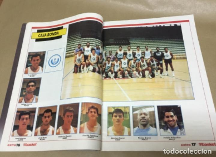 Coleccionismo deportivo: Extra don basket número 6 excelente estado 1989 - Foto 8 - 147900470
