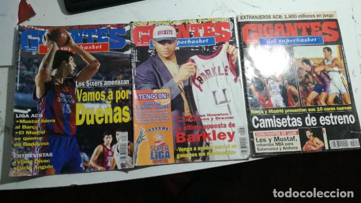 LOTE TRES REVISTAS GIGANTES AÑOS 95 Y 96 (Coleccionismo Deportivo - Revistas y Periódicos - otros Deportes)