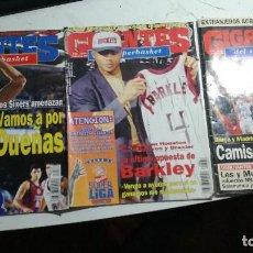 Coleccionismo deportivo: LOTE TRES REVISTAS GIGANTES AÑOS 95 Y 96. Lote 148081470