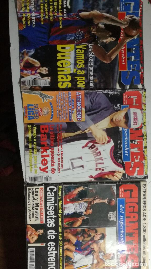 Coleccionismo deportivo: LOTE TRES REVISTAS GIGANTES AÑOS 95 Y 96 - Foto 2 - 148081470