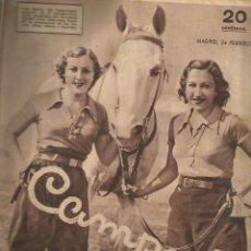 Coleccionismo deportivo: 3 REVISTA CAMPEON Nº 31 - 116 Y 119 AÑO 1933-Y 2 1935. Lote 148230718