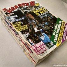 Coleccionismo deportivo: LOTE DE 65 REVISTAS ''GIGANTES DEL BASKET'' (1986-1989) - ACB/NBA . Lote 148248518