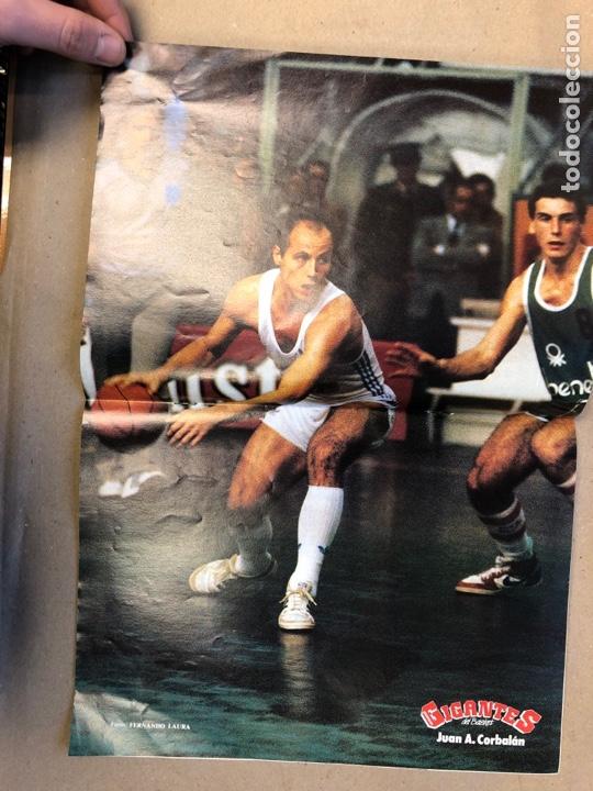 Coleccionismo deportivo: GIGANTES DEL BASKET N°4 (1985). SIBILIO, CHRIS MULLIN, NOVOSEL, POSTER DE CORBALAN, ... - Foto 2 - 148399124