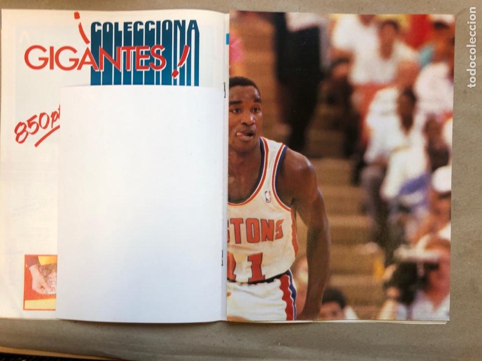 Coleccionismo deportivo: GIGANTES DEL BASKET N°145 (1988). ROMAY, UCLA, JOHN SALLEY, POSTER I. THOMAS, PEGATINA A. JIMÉNEZ,.. - Foto 3 - 148415229