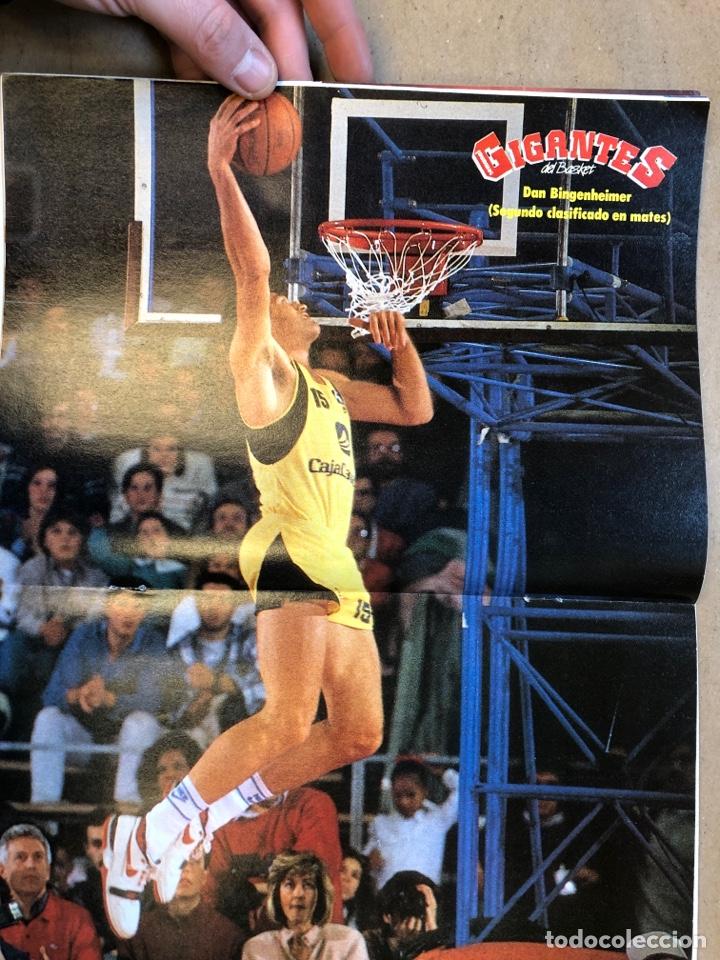 Coleccionismo deportivo: GIGANTES DEL BASKET N° 161 (1988). ESPECIAL ALL STAR ZARAGOZA 88, EUROBASKET 89, POSTER DAN BINGENHE - Foto 2 - 149450182