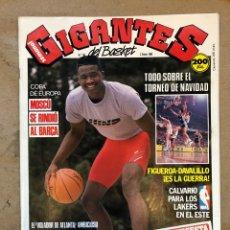 Coleccionismo deportivo: GIGANTES DEL BASKET N° 165. DOMINIQUE WILKINS, NBA, FIGUEROA VS DAVALILLO, POSTER RALPH SAMPSON Y MA. Lote 149451182