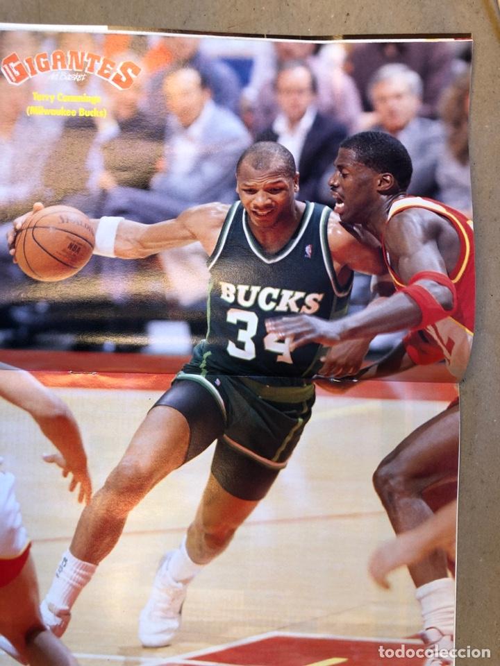 Coleccionismo deportivo: GIGANTES DEL BASKET N° 176 (1989). J.A. MONTERO, FINAL RECOPA, POSTER TERRY CUMMINGS,... - Foto 2 - 149453469