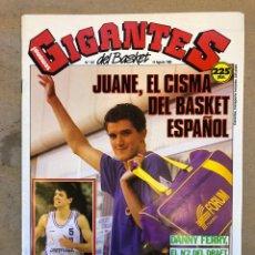 Coleccionismo deportivo: GIGANTES DEL BASKET N° 197 (1989). PETROVIC ENGAÑÓ A MENDOZA, JUANE EL CISMA DEL BASKET,POSTER RADJA. Lote 149457545