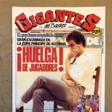 Coleccionismo deportivo: GIGANTES DEL BASKET N° 201 (1989). HUELGA DE JUGADORES (CASO JUANE), POSTER JAMES WORTHY,... Lote 149458374